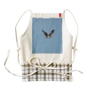 Gliding Osprey Zazzle HEART Apron