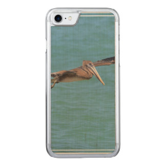 Gliding Pelican Carved iPhone 8/7 Case