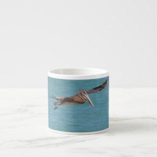Gliding Pelican Espresso Cup