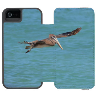 Gliding Pelican iPhone SE/5/5s Wallet Case