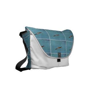Gliding Pelican Small Messenger Bag