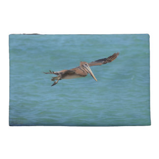 Gliding Pelican Travel Accessories Bag