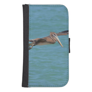 Gliding Pelican Wallet Phone Case For Samsung Galaxy S4