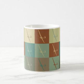 Gliding Pop Art Coffee Mug