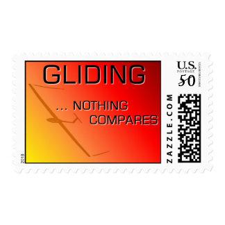 Gliding Soaring Stamp