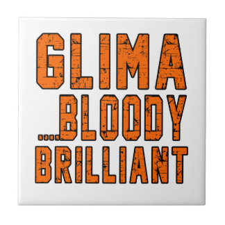 Glima Bloody brilliant Small Square Tile