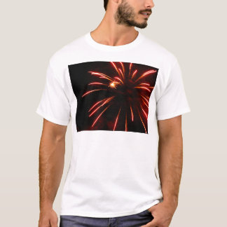 Glimmer and Burst of Red T-Shirt