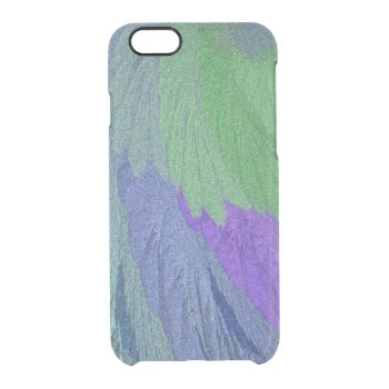 Glimmer Leaf Clear iPhone 6/6S Case