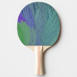 Glimmer Leaf Ping Pong Paddle