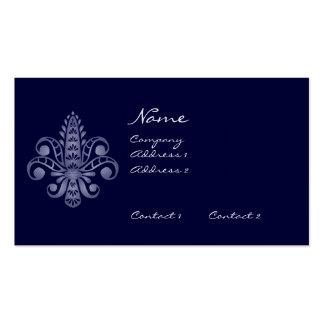 Glimmericks Fleur de Lis Business Cards