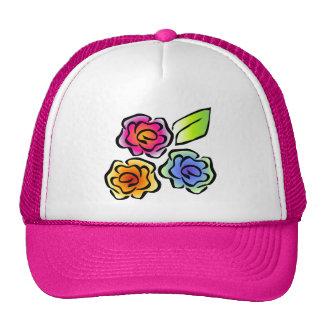 Glimmericks Floral 3 Trucker Hat