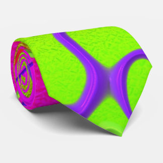glimmering abstract tie