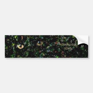 Glimmering Eyes in Glade Bumper Sticker