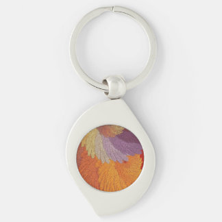 Glimmering Leaves Keychain