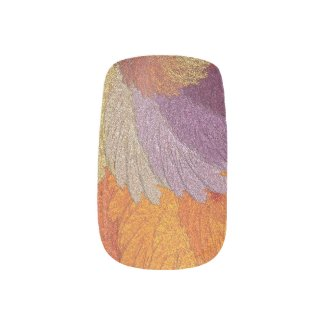 Glimmering Leaves Minx® Nail Wraps