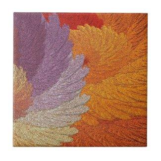 Glimmering Leaves Tile