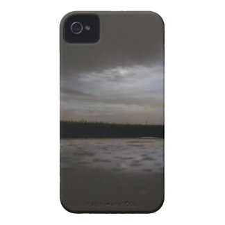 Glimpse of moon in a cloudy night iPhone 4 Case-Mate case