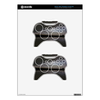 Glimpse of moon in a cloudy night xbox 360 controller decal