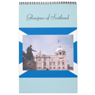 Glimpses of Scotland Calendar