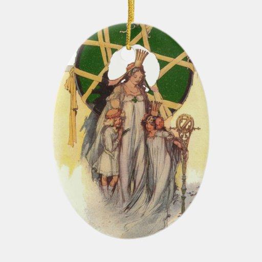 Glinda, Dorothy & Ozma Christmas Ornaments