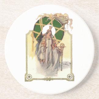 Glinda, Dorothy & Ozma Drink Coaster