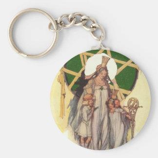 Glinda, Dorothy & Ozma Key Chain
