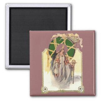 Glinda, Dorothy & Ozma Refrigerator Magnet