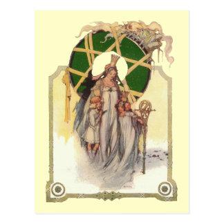 Glinda, Dorothy y Ozma Tarjetas Postales