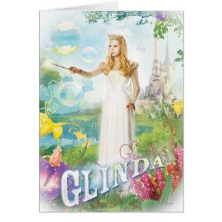 Glinda la buena bruja 1 tarjeta de felicitación