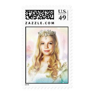 Glinda la buena bruja 2 sellos postales
