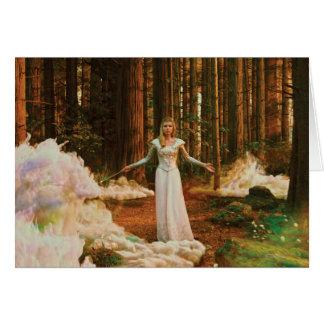 Glinda la buena bruja 3 tarjeta de felicitación