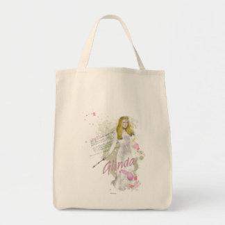 Glinda la buena bruja 4 bolsa tela para la compra