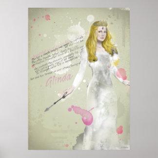 Glinda la buena bruja 4 póster