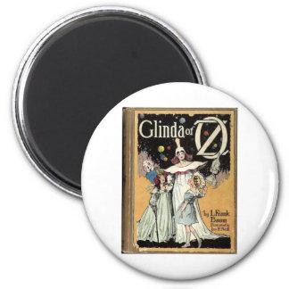 Glinda Of Oz 2 Inch Round Magnet
