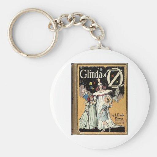 Glinda Of Oz Basic Round Button Keychain