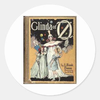 Glinda Of Oz Classic Round Sticker