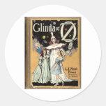 Glinda Of Oz Round Stickers