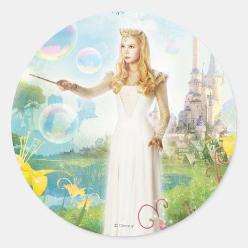 Glinda The Good Witch 1 Round Stickers