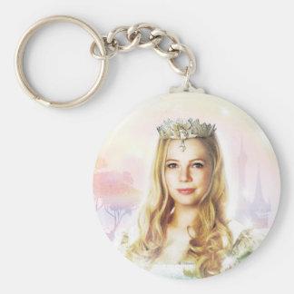 Glinda The Good Witch 2 Basic Round Button Keychain