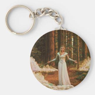 Glinda The Good Witch 3 Basic Round Button Keychain