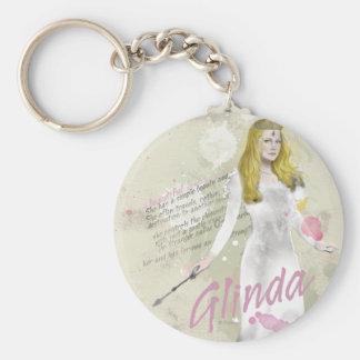 Glinda The Good Witch 4 Basic Round Button Keychain