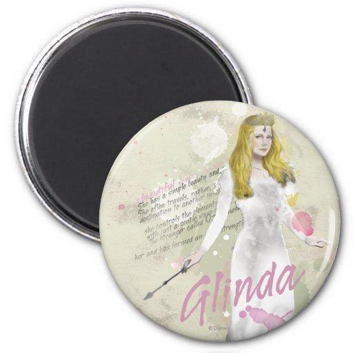 Glinda The Good Witch 4 Fridge Magnet