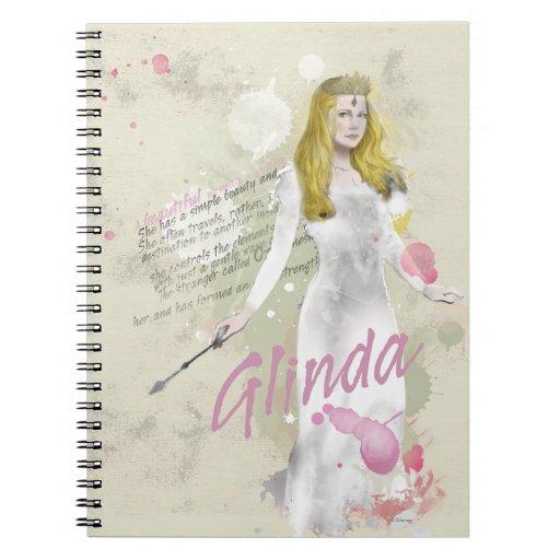 Glinda The Good Witch 4 Notebooks