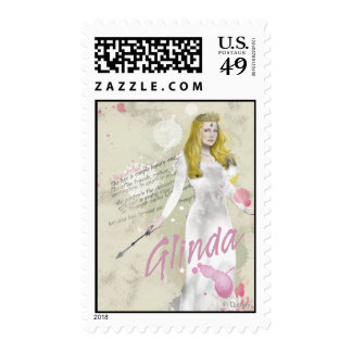 Glinda The Good Witch 4 Postage Stamps