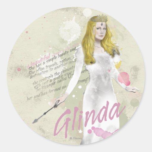 Glinda The Good Witch 4 Round Sticker