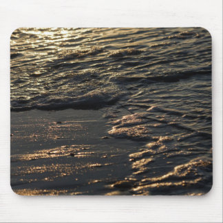 Glistening Beach Morning Mouse Pad