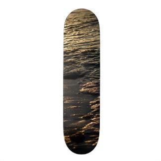 Glistening Beach Morning Skateboard