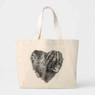 Glistening Crocuses Large Tote Bag