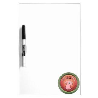 Glitch: achievement 2nd rate piggy hash slinger dry erase board