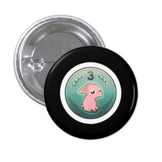 Glitch: achievement 3rd rate piggy hash slinger pinback button